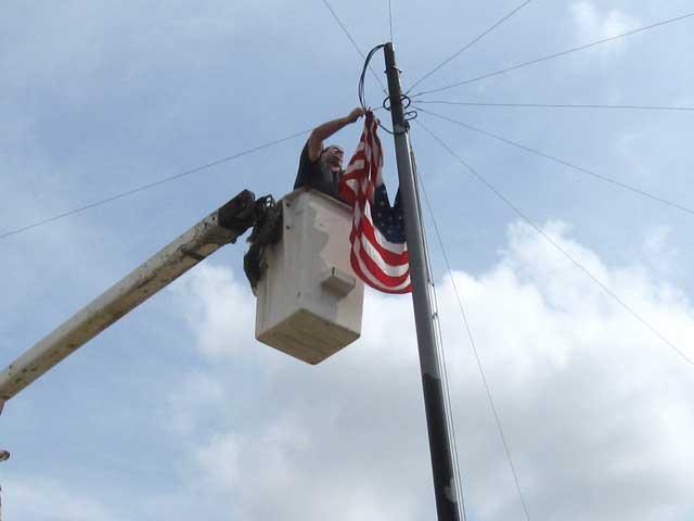 Flag rescue