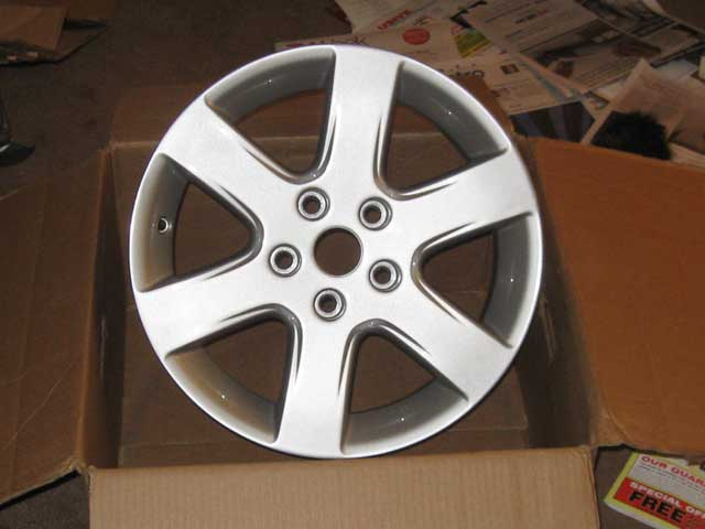 Wheel for the wife's Nissan Altima
