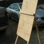 Ten Dollar Easel