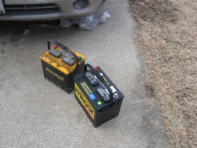 New battery for Crunchbird