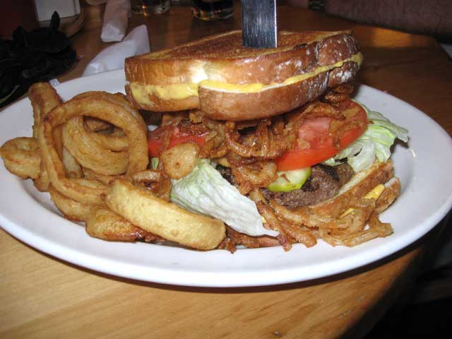 The Angry Mountain,Toonies Fish and Steakhouse in Bellaire, Michigan