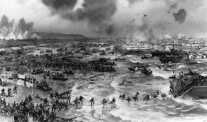 D-Day, the Normandy Invasion. June 6, 1944