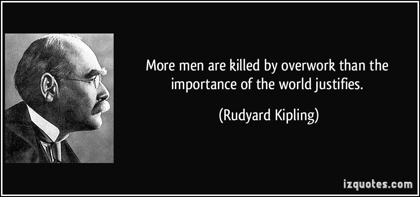 the importance of the work of kipling Rudyard kipling: poems study guide contains a biography of rudyard kipling  his behavior in response to deleterious events and cruel men is important.
