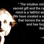 Instincts…