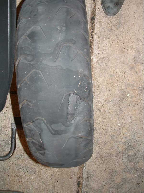2002 Gold Wing OEM tire