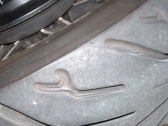 Tire sidewall cracks - Motorcycle Forum