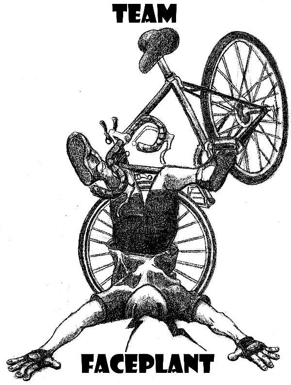 Team Faceplant-bicycle division