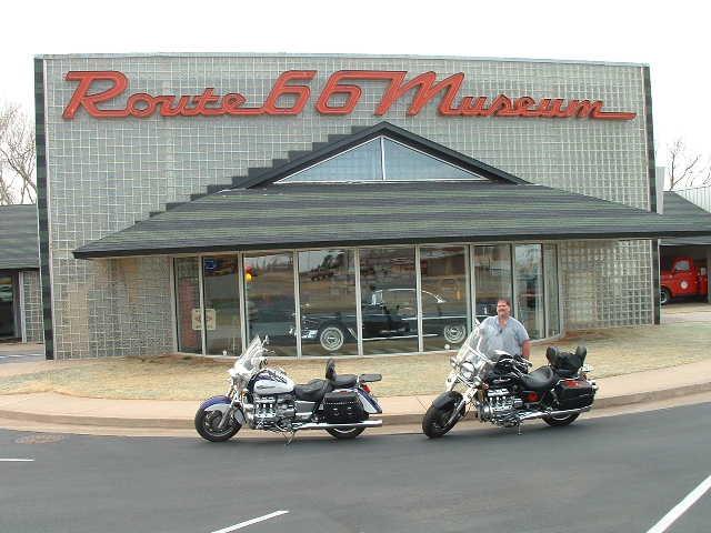 Route 66 in Clinton OK
