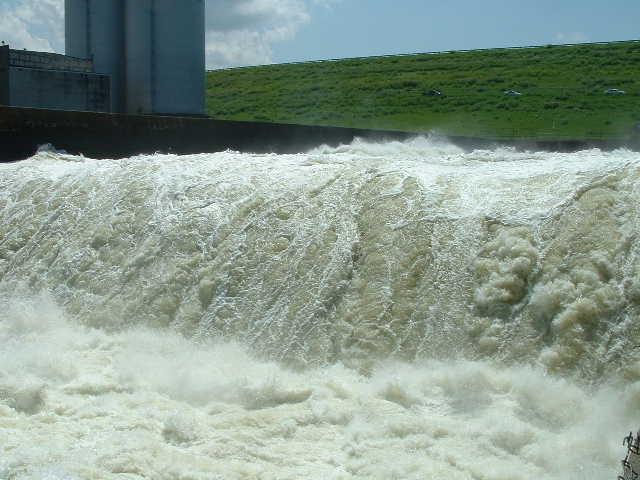Texoma spillway